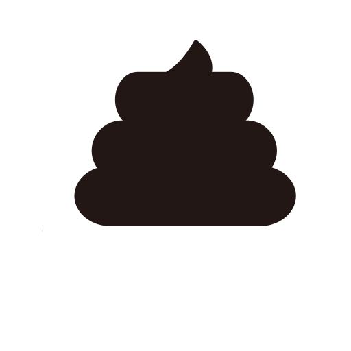 Shit vector. Cream poo icon png