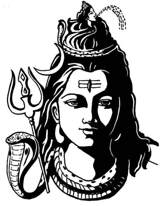 Shiva drawing clip art. Png images free download