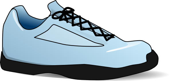 Shoe art png. Clip at clker com