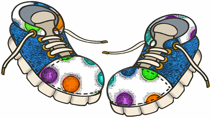 Shoe clipart. Funny clipartofshoes free