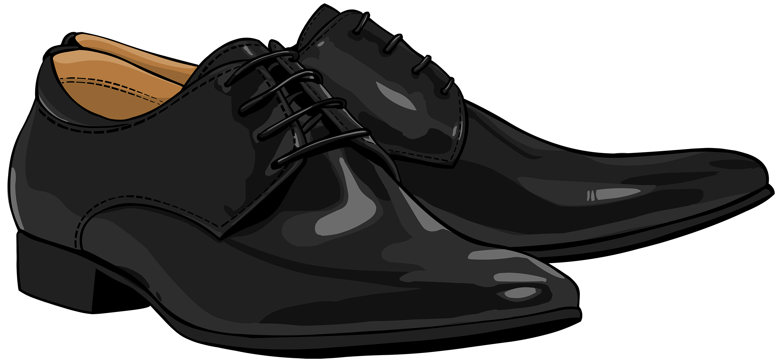 Shoe clipart dress shoe. Black men shoes png