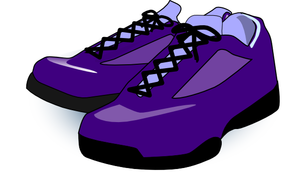 Shoes cartoon png. Purple clip art at