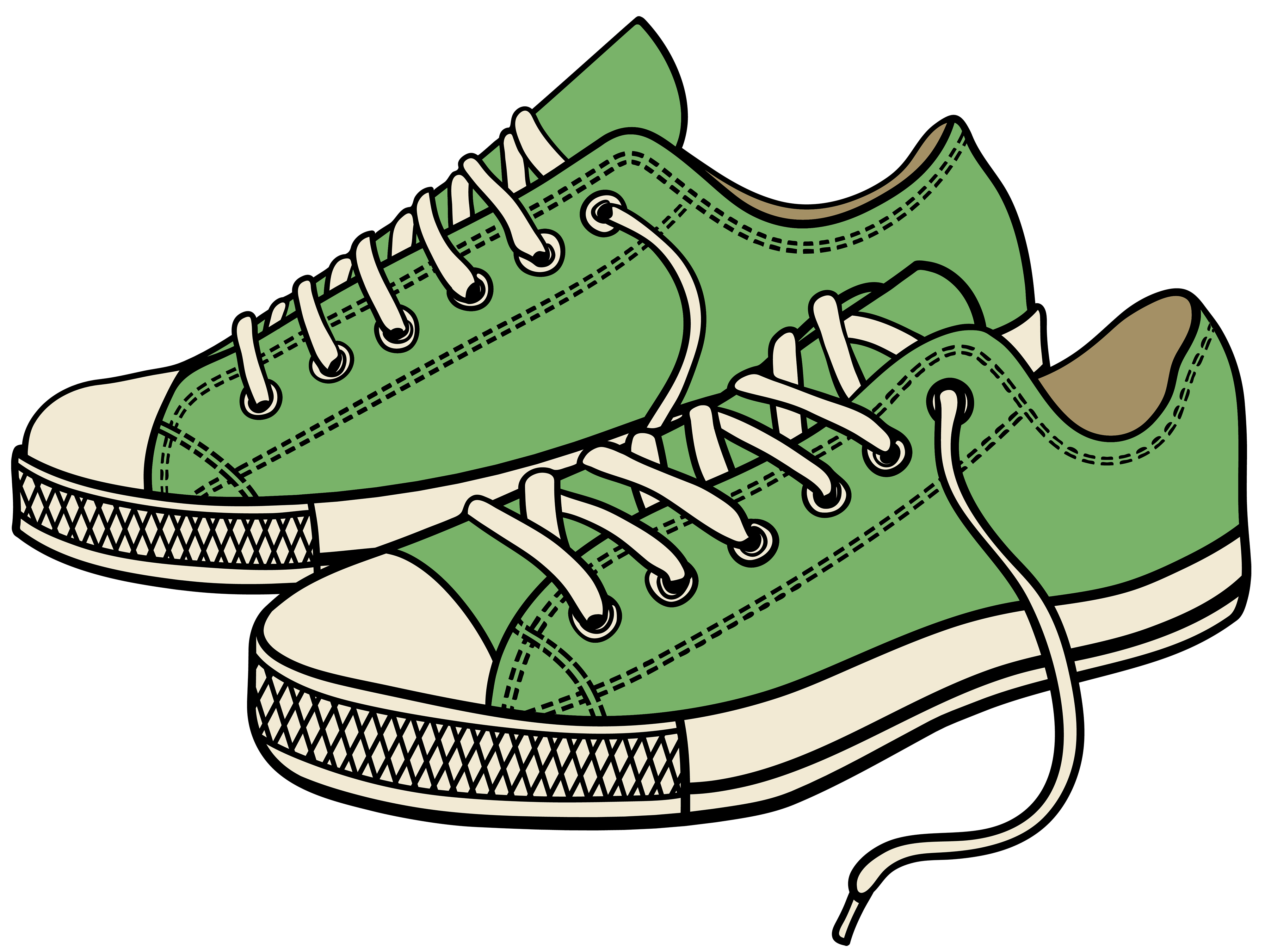 free png clipart shoe black and white