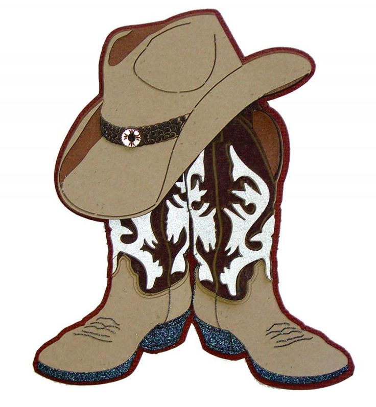 Cowboy clipart cowboy outfit. Hat and boots drawing