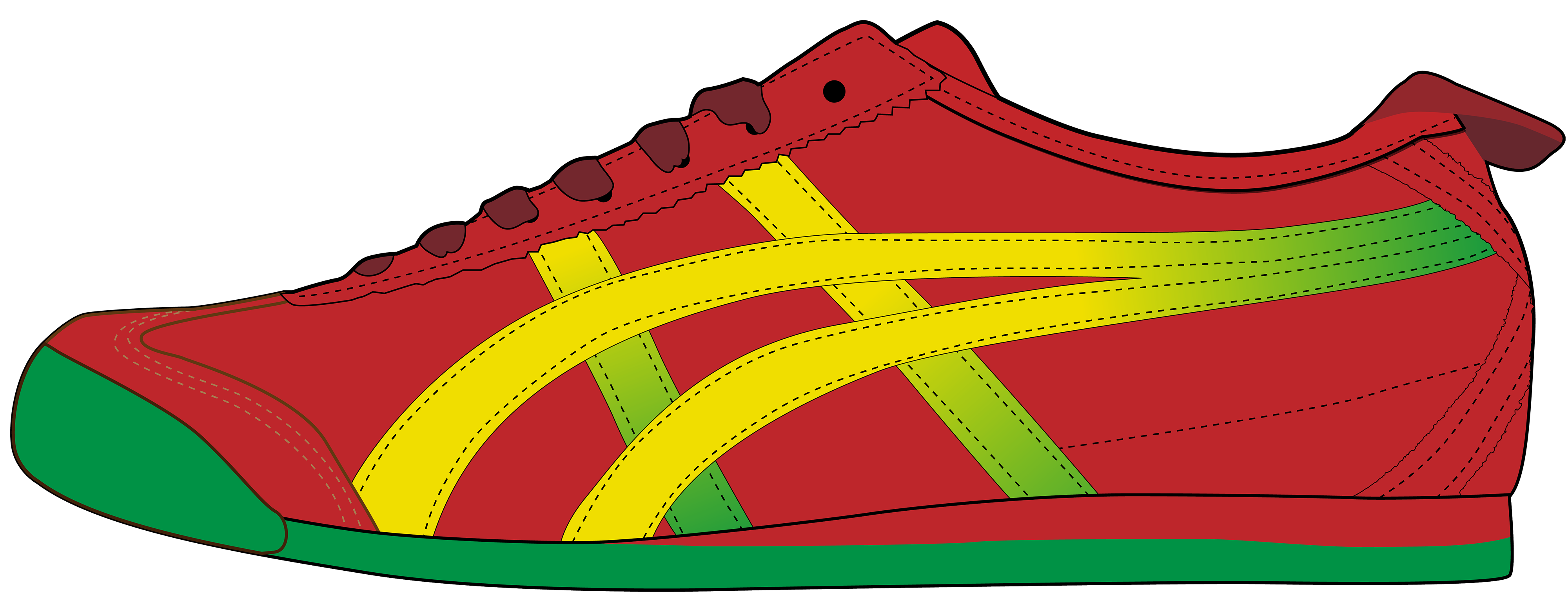 Shoes clipart foot wear. Shoe at getdrawings com