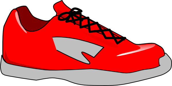 slippers clipart red