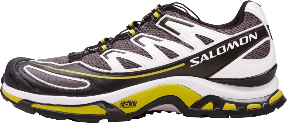 yellow track shoe png