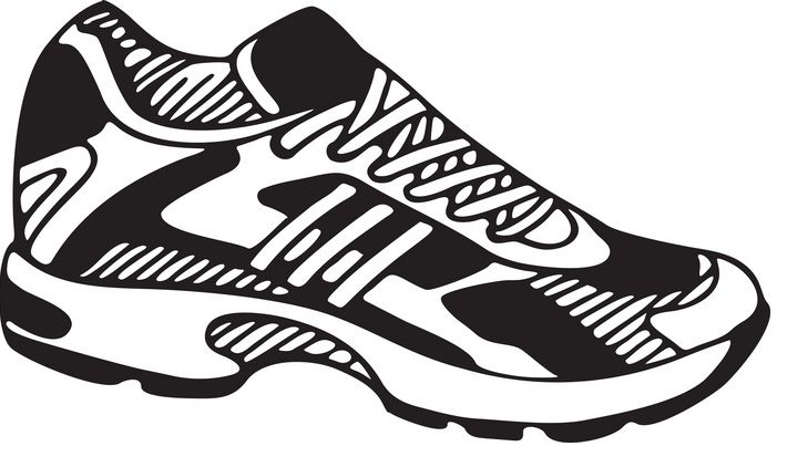 shoes clipart tennis shoe