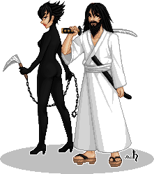 Shogun drawing samurai jack. Ashi and by shiicolate