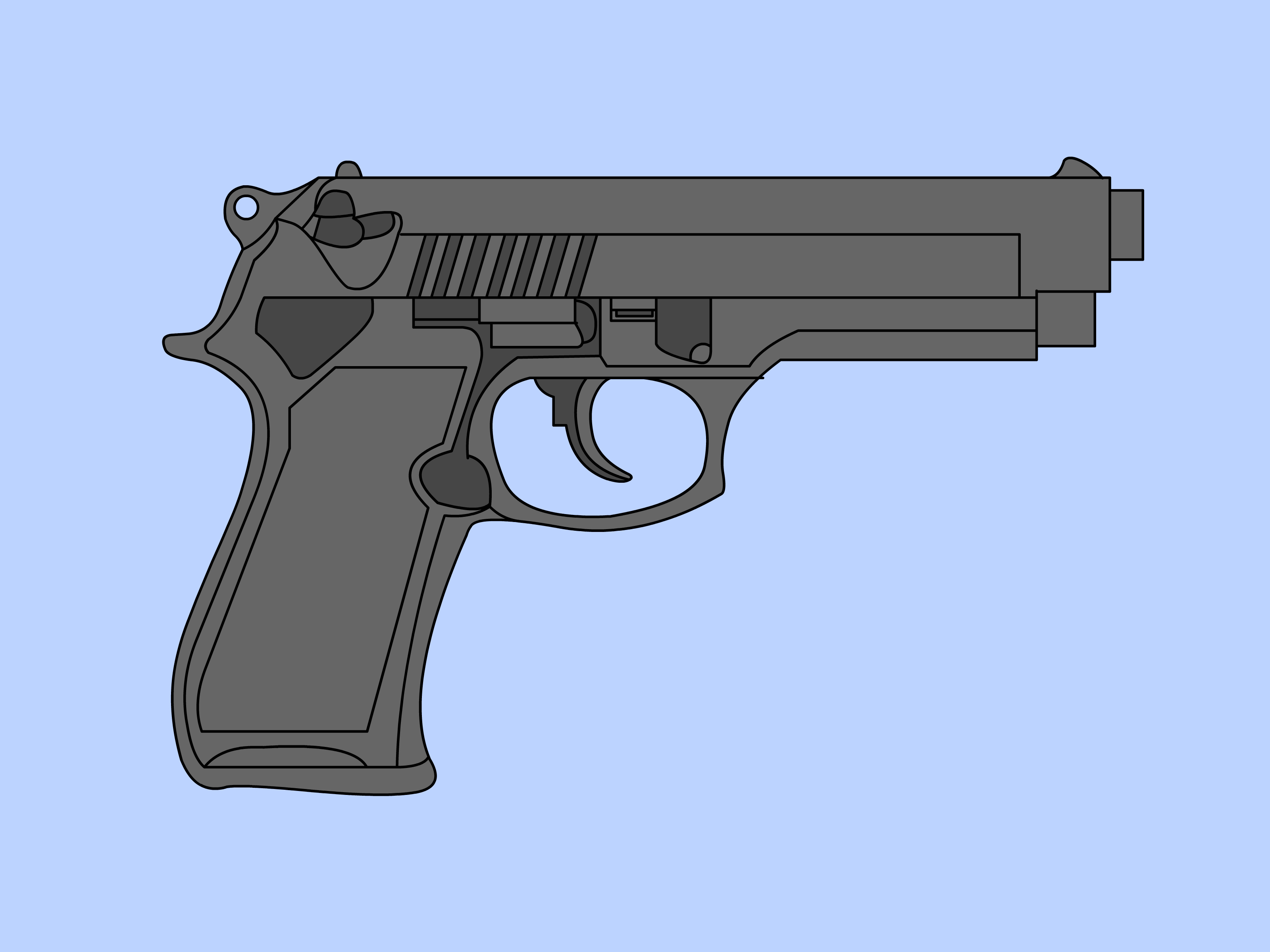 Shooting clipart easy. How to draw a