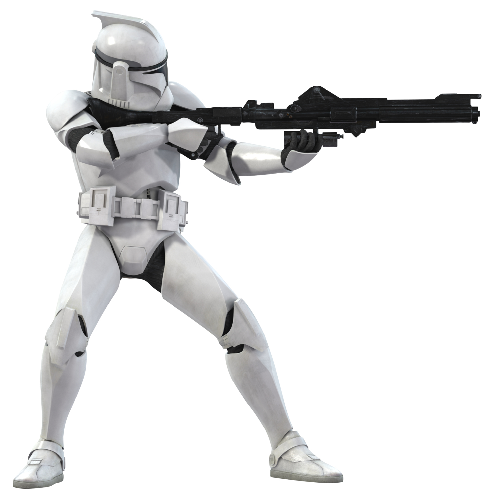Shooting drawing clone trooper. Dc a blaster rifle