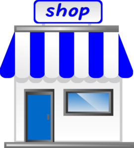 Shop clipart. With awning clip art