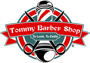 Tommy barber logo cdr. Shop vector banner library stock