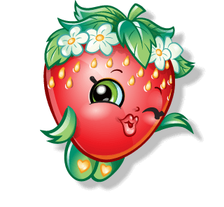 Drawing shopkins strawberry. Official site the best