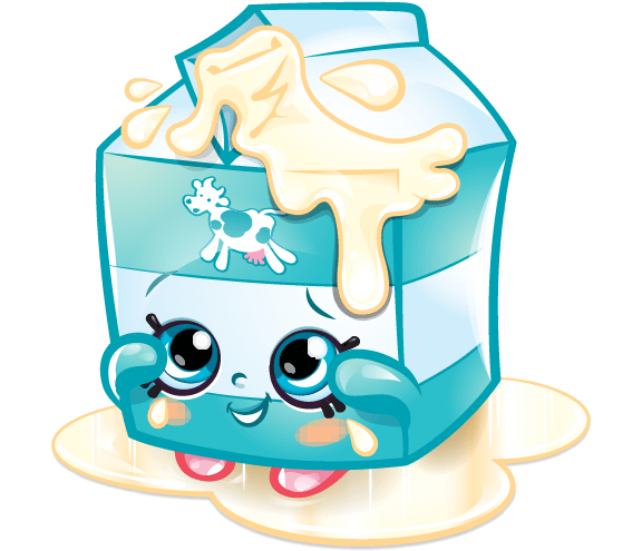 Drawing shopkins dairy. Official site milk cute