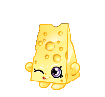 Drawing shopkins cartoon. Chee zee and decoration
