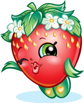 Drawing shopkins strawberry. Official site pinterest