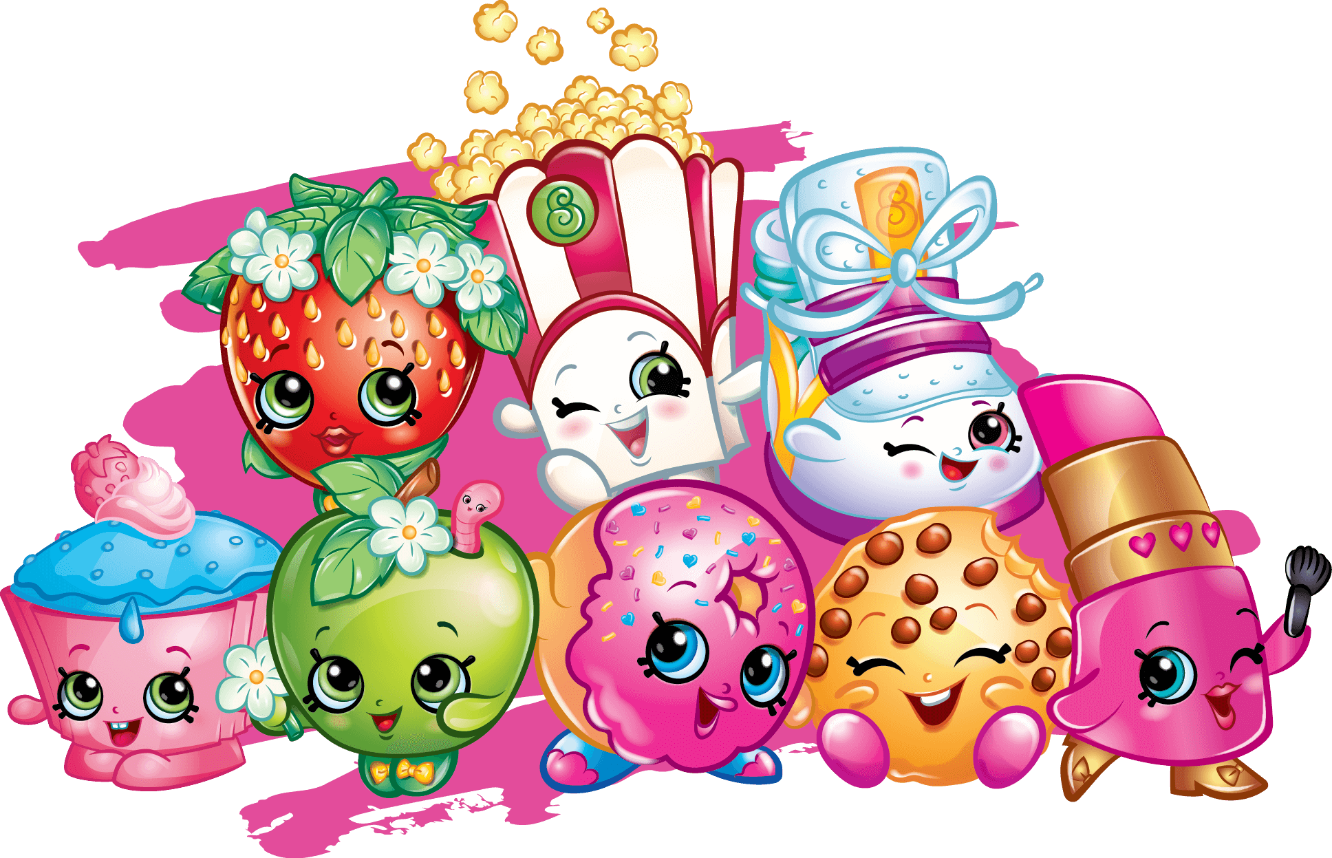 Drawing shopkins. Printable coloring pages