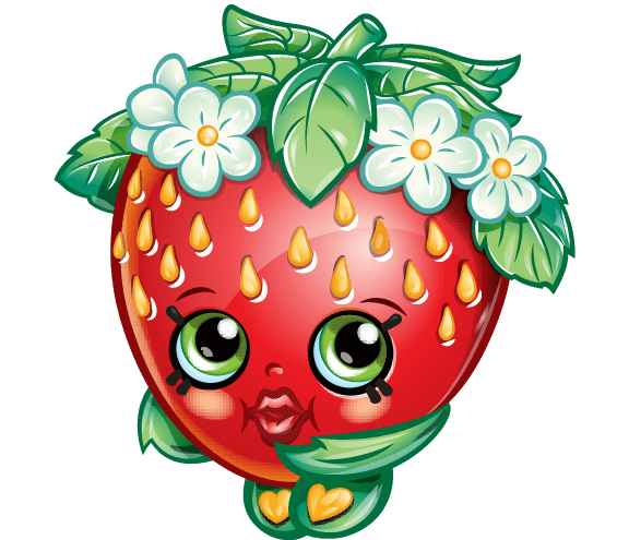 Shopkins strawberry png. Party printables
