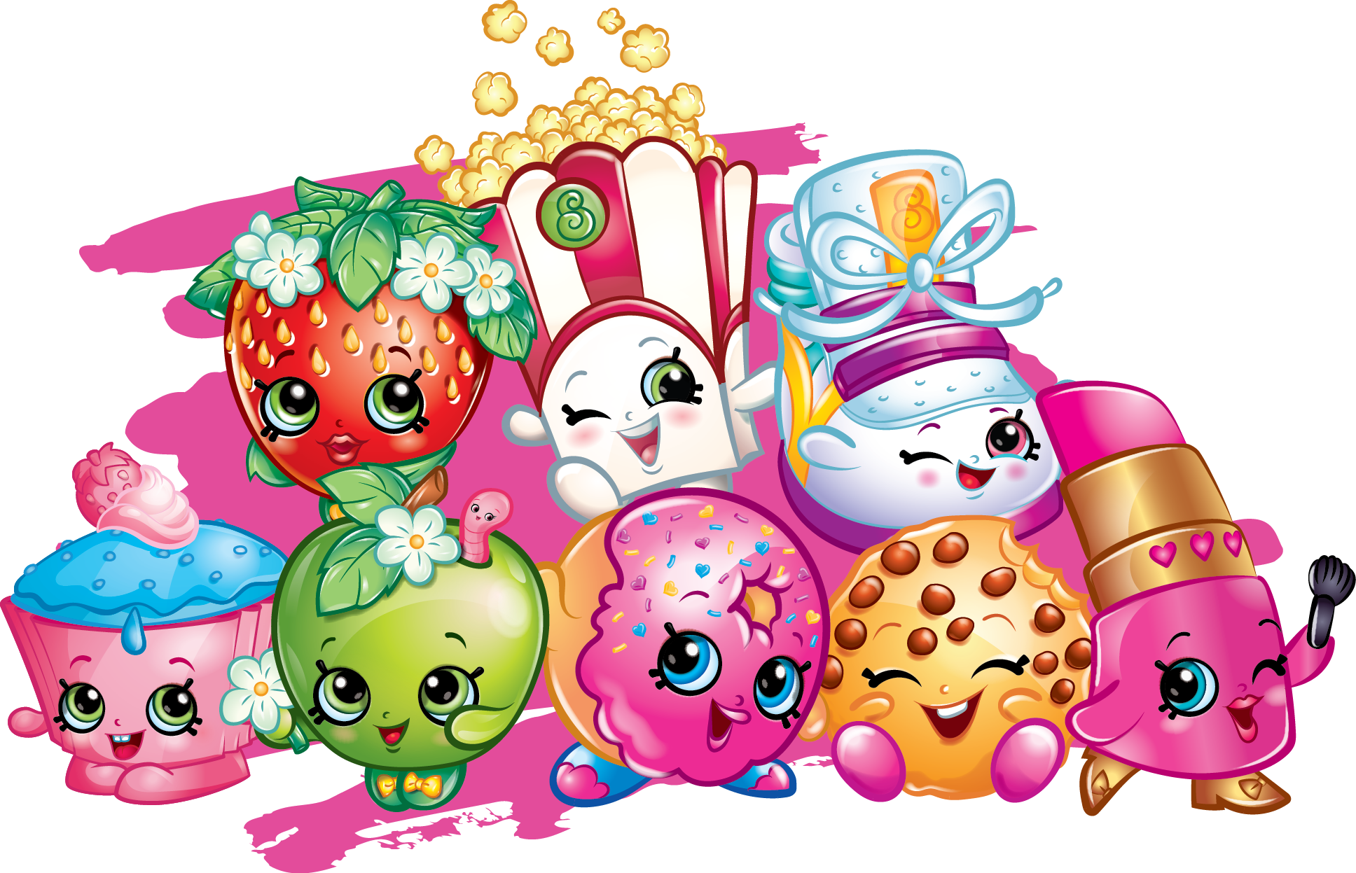 shopkins shopping cart png
