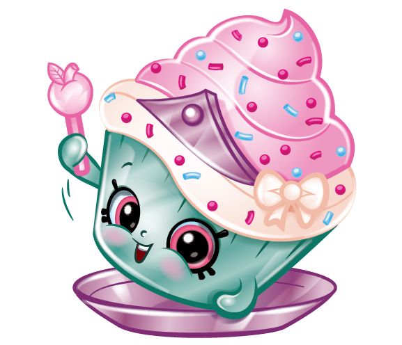Cupcake princess picture . Shopkins png svg library stock