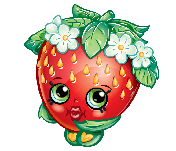 Shopkins strawberry png. World home kiss