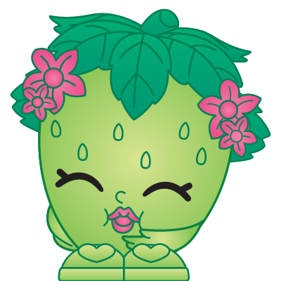 Shopkins strawberry png. Kiss a rare shopkin