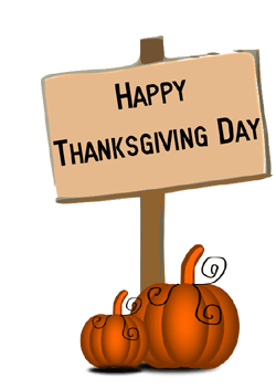 Shopping clipart thanksgiving. Free images signs and