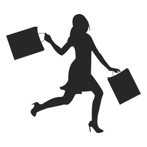 Shopping icon png. Woman transparent svg vector