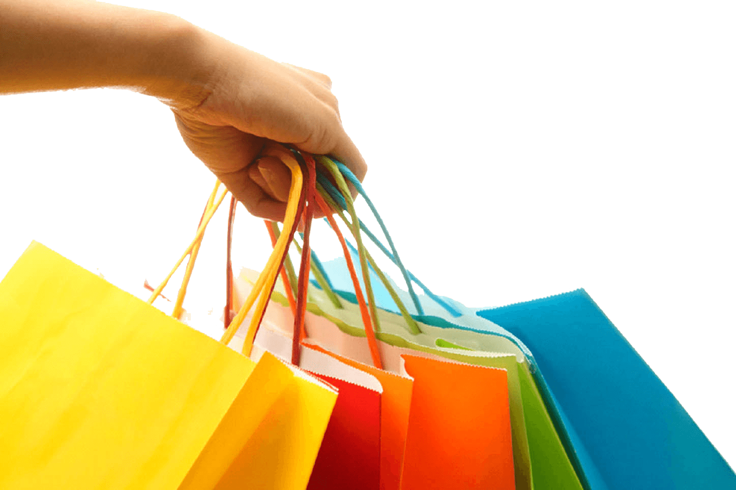 shopping transparent personal