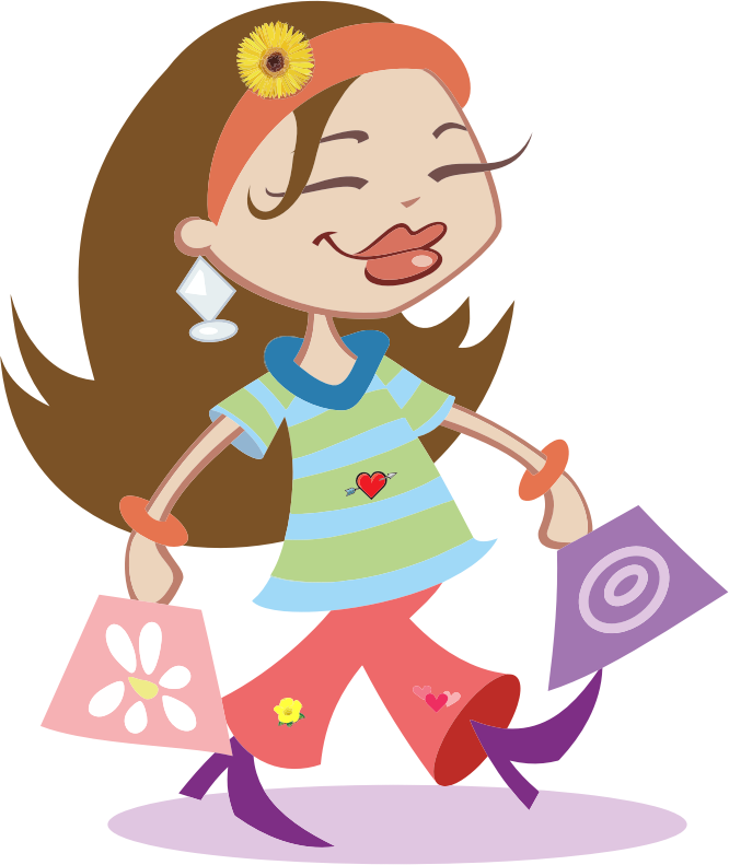 Shopping transparent clipart. Collection of free estopping