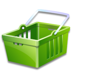 Shopping transparent internet. Royalty free png images