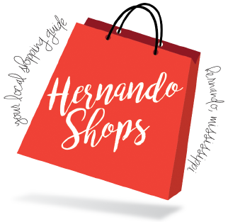 Shopping transparent lets. Hernando shops local in