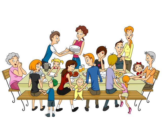 Short clipart 4 person family. Fodder fathers f blog