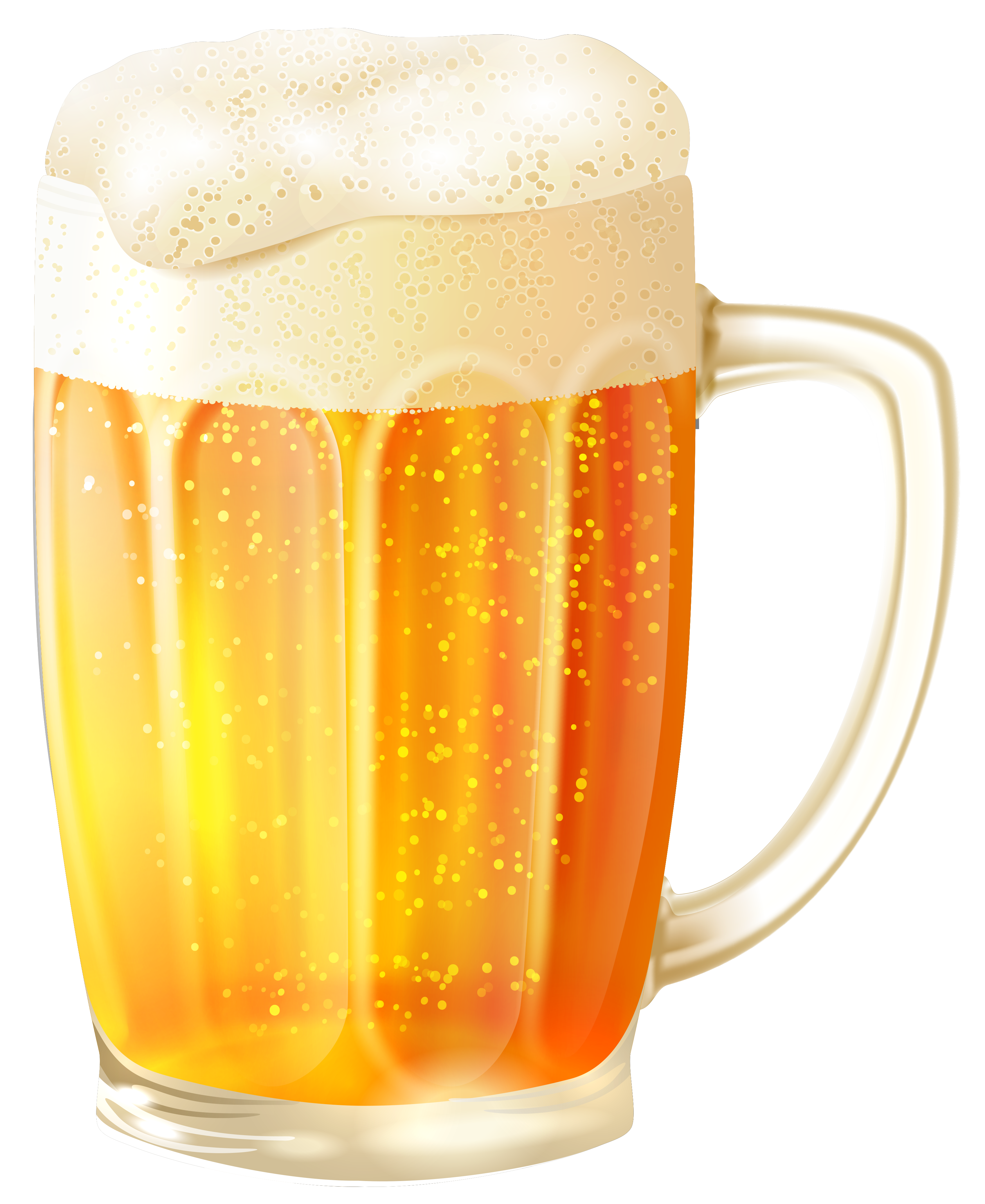 Shot glass vector png. Mug with beer clipart