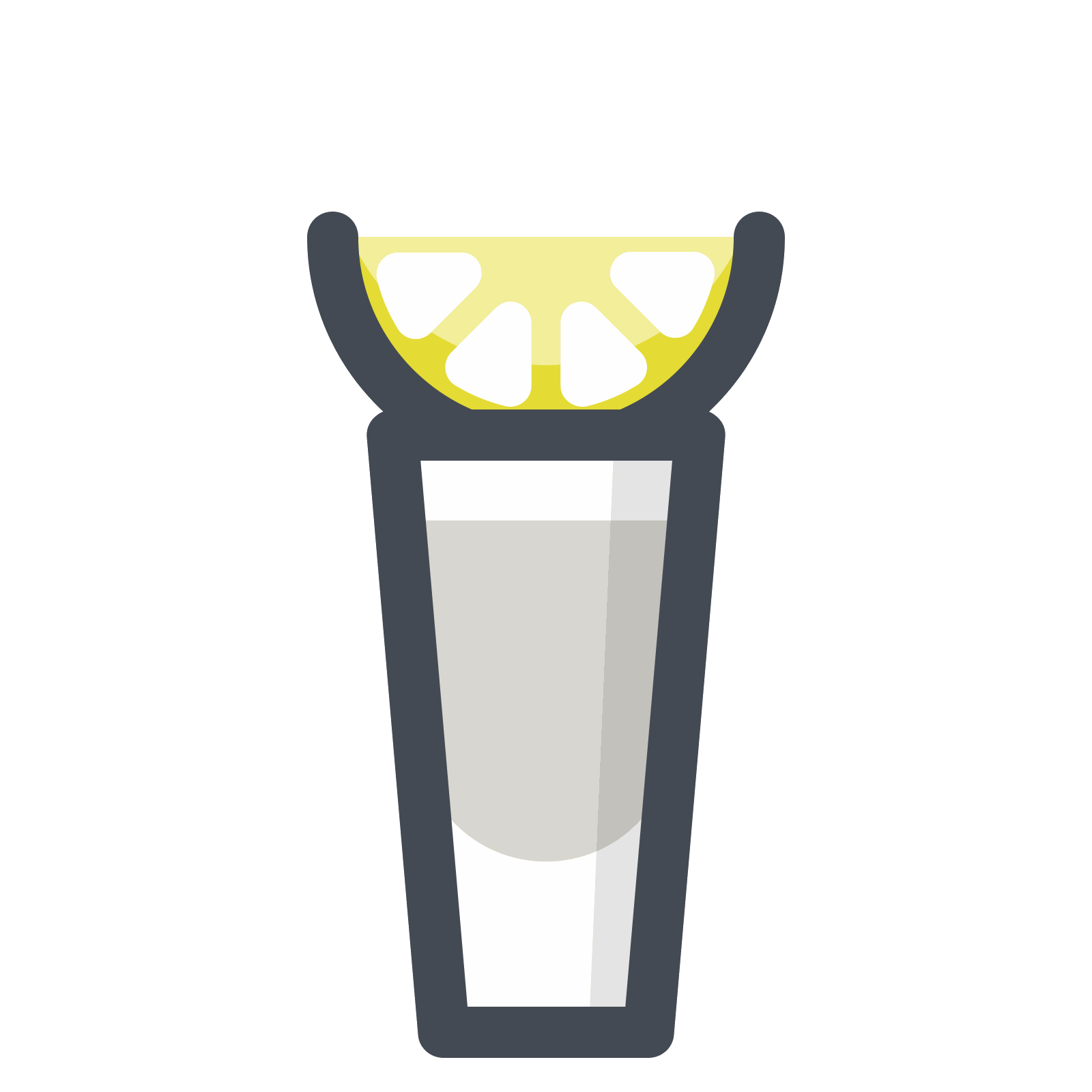 Vector shot. Tequila icon free download