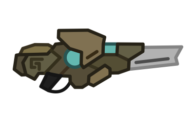 burst transparent gun