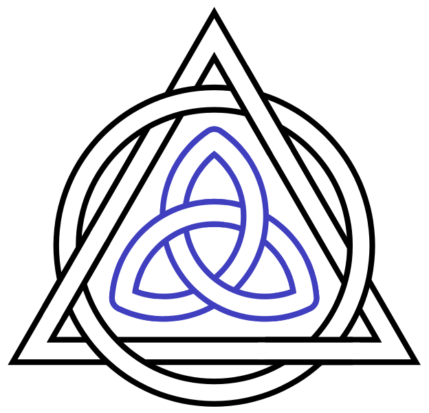 Should png files be interlaced. File triquetra triangle circle