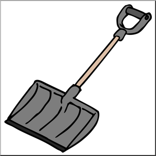 shovel clipart snow shovel