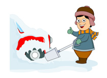 Shovel clipart snow shovel. Search results for clip