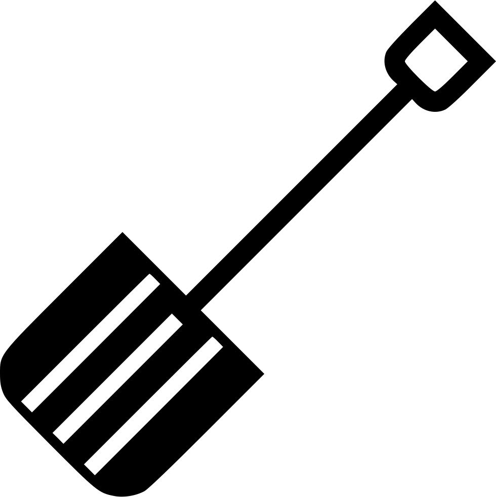 Snow shovel png. Svg icon free download