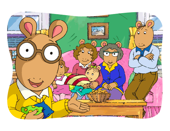 Show and tell clipart healthy child. Arthur family health pbs