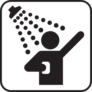 Taking clipart shower. Showers clip art at