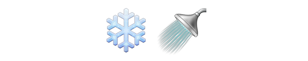 Shower emoji png. Cold meanings stories
