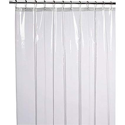 Showering clipart shower curtain. Liba mildew resistant anti