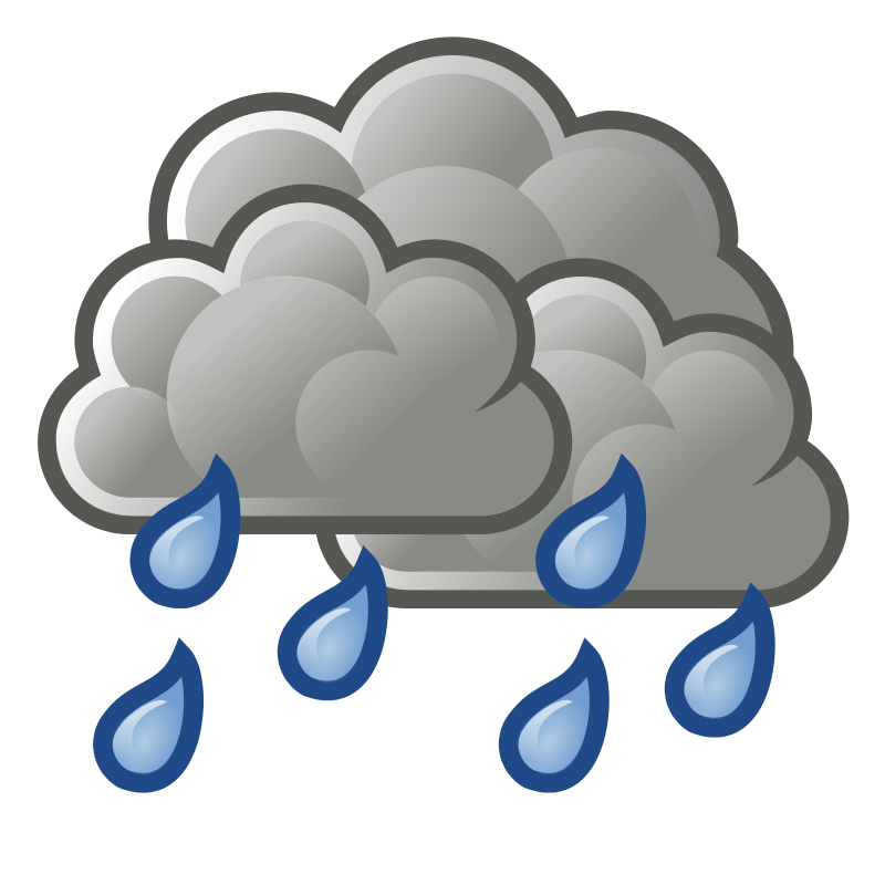 Showers clipart rainfall. Snowfall rains end dry