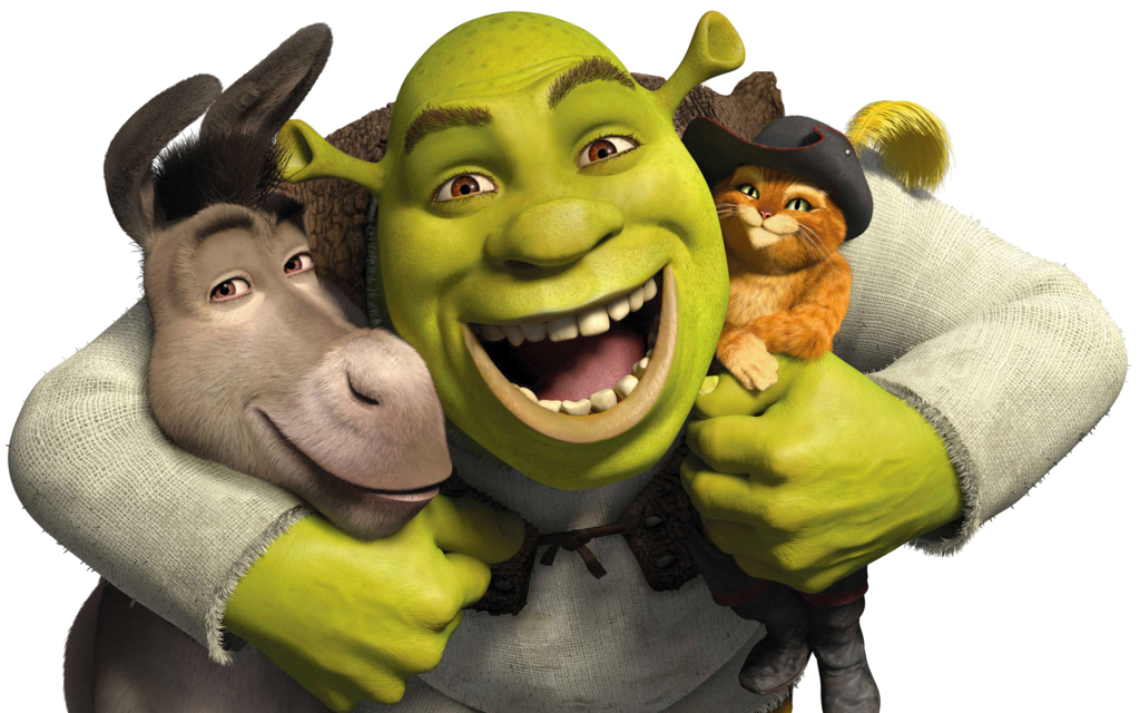 Shrek and donkey png. Icon by slamiticon on