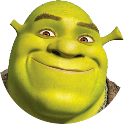 Shrek meme png. Decal roblox
