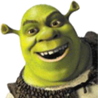 Shrek meme png. Real feats not memes