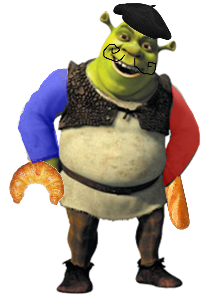 Shrek vector. French by ttnofficial on